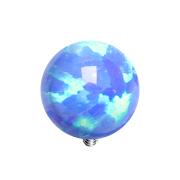 Dermal Anchor Kugel Opal blau
