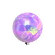 Dermal Anchor Kugel Opal violett