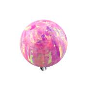 Dermal Anchor Kugel Opal pink