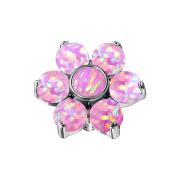 Dermal Anchor Blume Opal pink