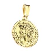 Anhänger vergoldet Jesus