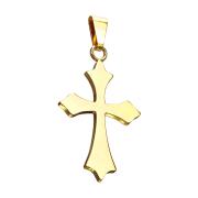 Anhänger vergoldet Keltenkreuz