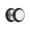 Fake Plug silber mit O-Ring