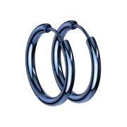 Ohrring blau