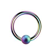 Micro Ball Closure Ring farbig gesprenkelt