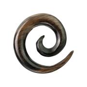 Dehnspirale aus Ebenholz