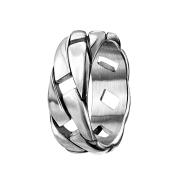 Ring silber Kette