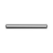 Threadless Barbell-Stab silber