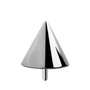 Threadless Cone silber
