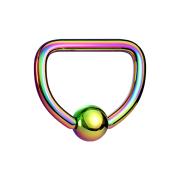Micro Ball Closure Ring farbig D