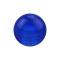 Kugel dunkelblau transparent