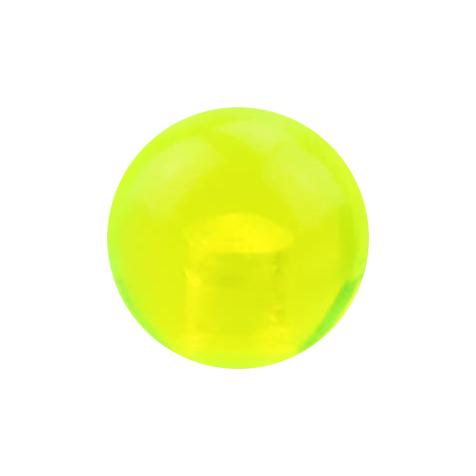 Kugel grün transparent