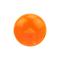 Kugel orange transparent