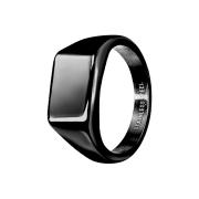 Ring schwarz Quadrat flach