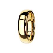 Ring vergoldet hochglanzpoliert