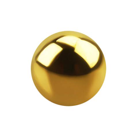 Kugel vergoldet