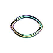 Micro Segmentring farbig klappbar Oval