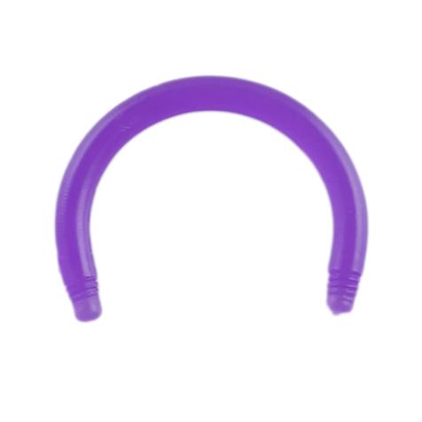 Circular Barbell-Stab violett