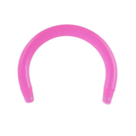 Circular Barbell-Stab pink