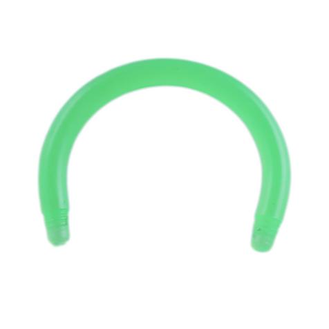 Circular Barbell-Stab grün