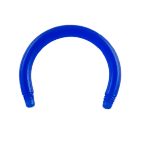 Circular Barbell-Stab dunkelblau