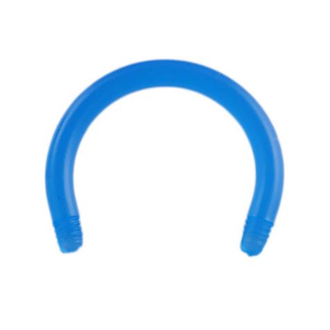 Circular Barbell-Stab hellblau