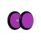 Fake Plug violett mit O-Ring