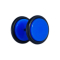 Fake Plug dunkelblau mit O-Ring