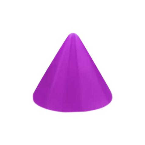 Micro Cone Neon violett