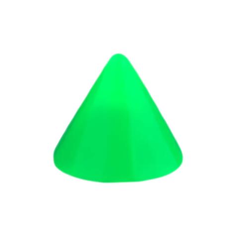 Micro Cone Neon grün