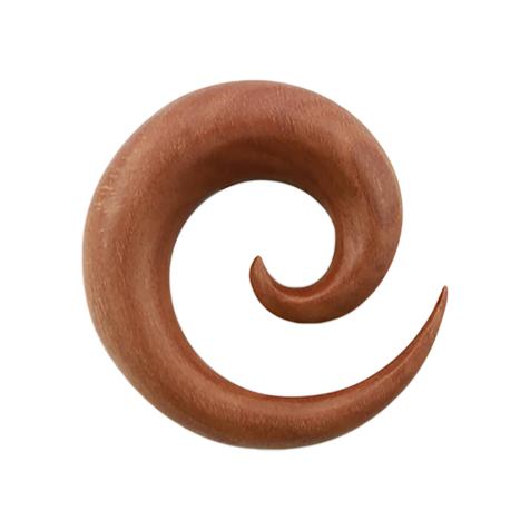Dehnspirale aus Sawoholz