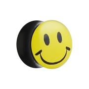 Flared Plug mit Smiley