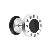 Fake Plug Uhr mit römsichen Zeichen