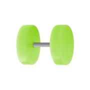 Fake Plug grün