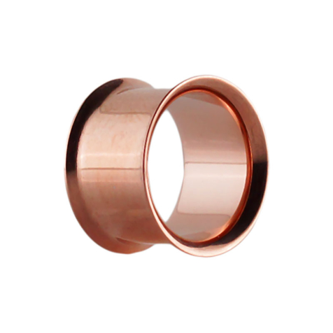 Flared Tunnel rosegold