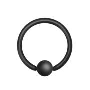 Ball Closure Ring schwarz matt